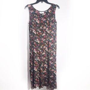 Vintage Forever, Caroline Floral Maxi Dress 16